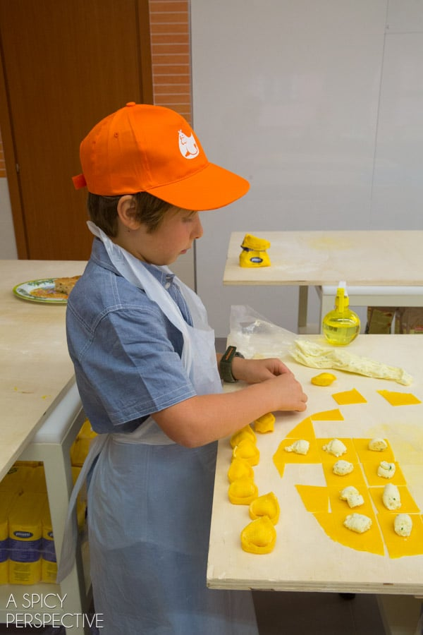 Kids Cook in Bologna Italy - Travel Tips and Photos on ASpicyPerspective.com #travel #italy
