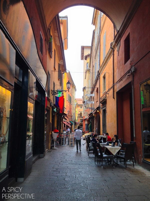 See Bologna Italy - Travel Tips and Photos on ASpicyPerspective.com #travel #italy