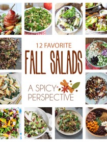 Top 12 Fall Salads on the Web! #fall #salads