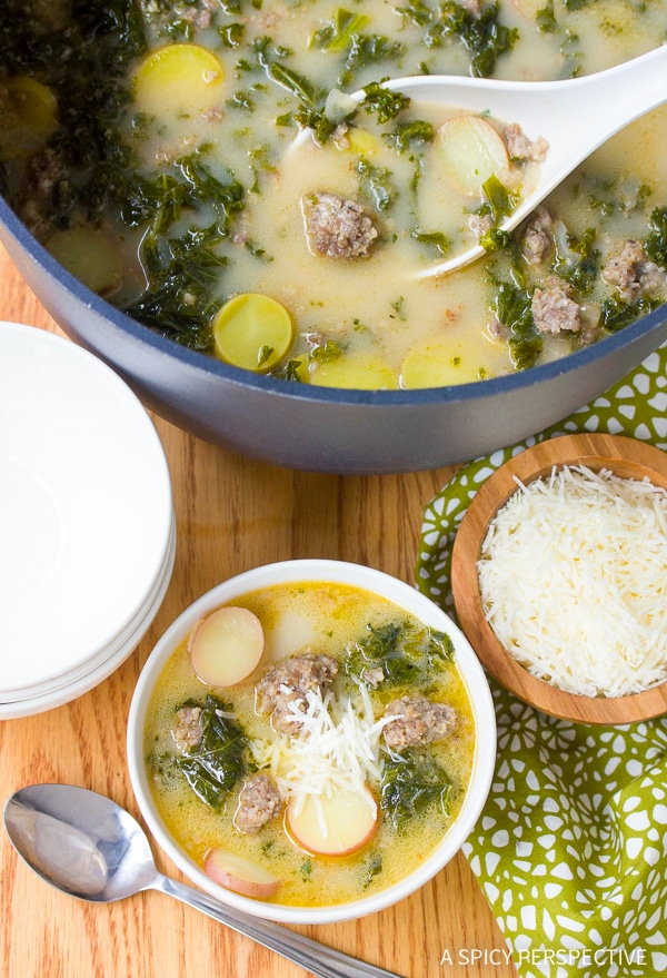 Hearty Sausage and Kale Soup Recipe