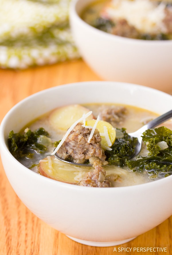 Best Sausage and Kale Soup Recipe