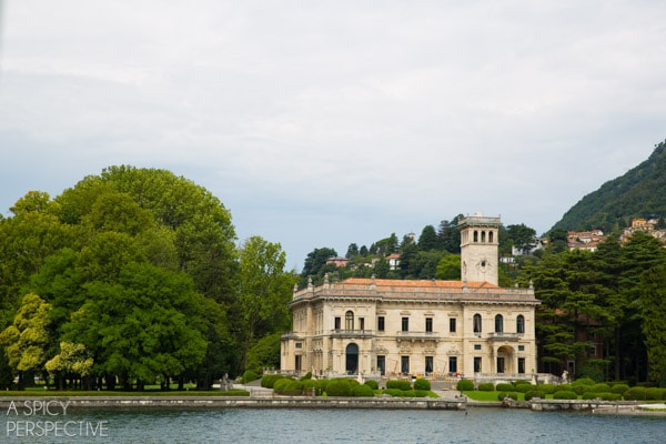 Villa - Lake Como Italy #travel #italy #lakecomo