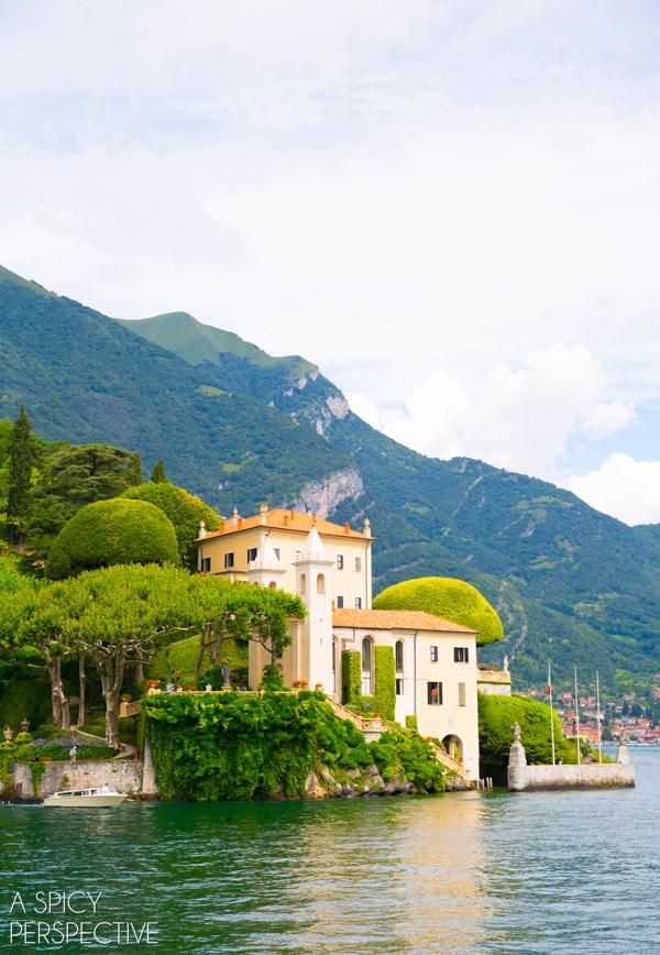 VILLAS! - Lake Como Italy #travel #italy #lakecomo