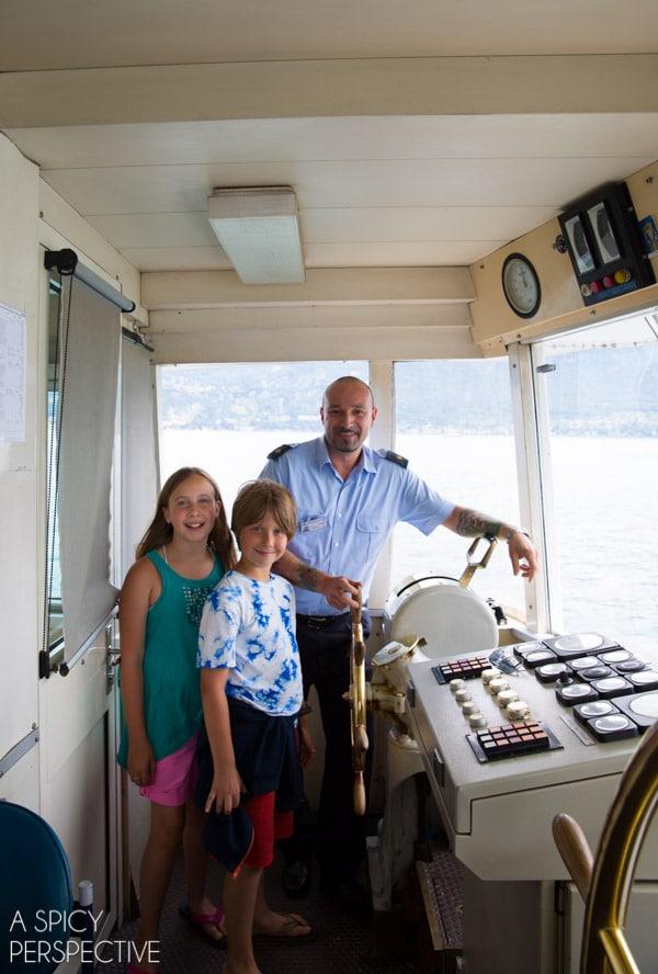 Boat Tour - Lake Como Italy #travel #italy #lakecomo