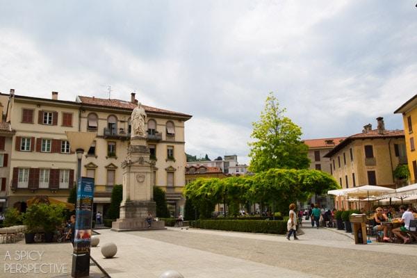 Como City - Lake Como Italy #travel #italy #lakecomo
