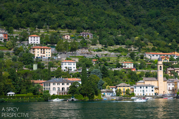 George Clooney's House - Lake Como Italy #travel #italy #lakecomo