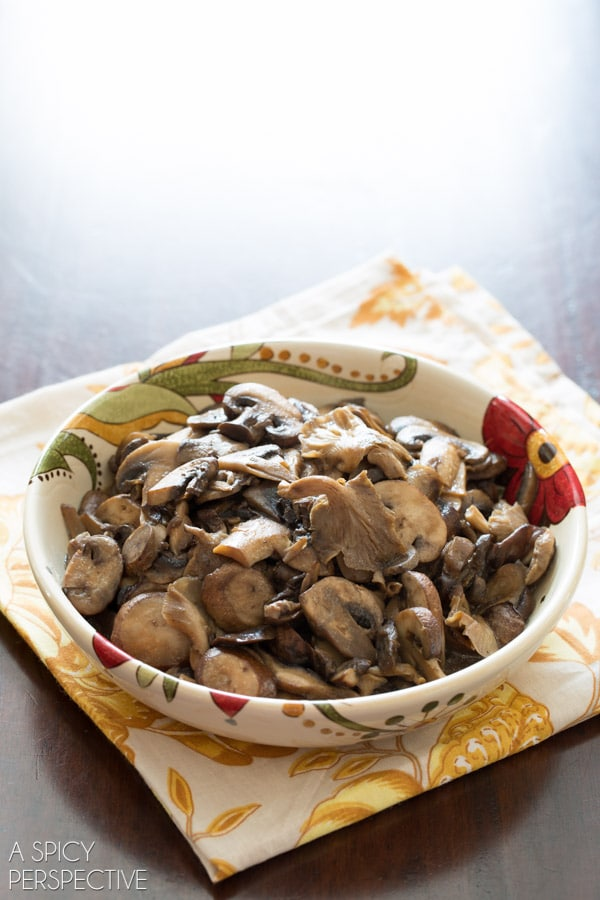 Making Wild Mushroom Soup #soup #mushrooms