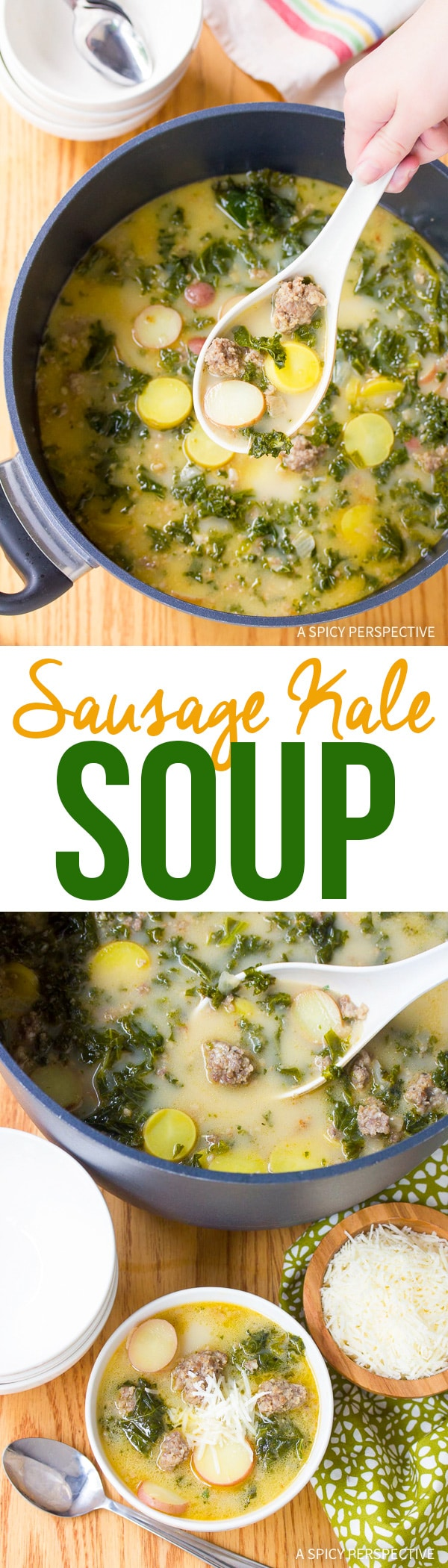 Zesty Sausage and Kale Soup Recipe