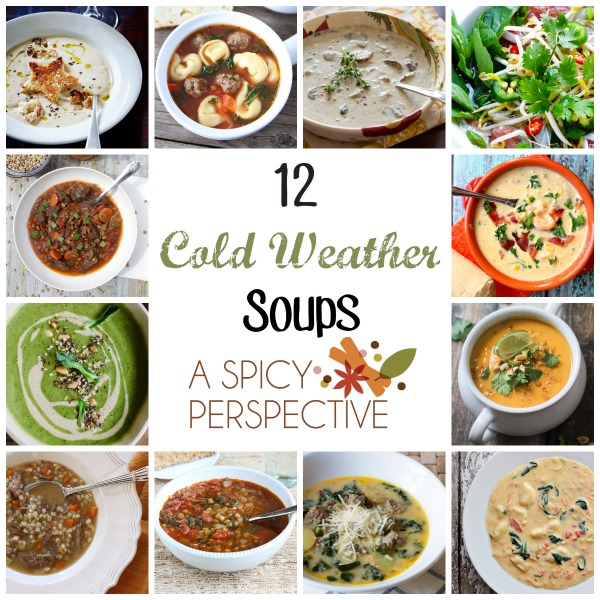 Bowl of soup goes hand in hand with cold weather and these 12 soups