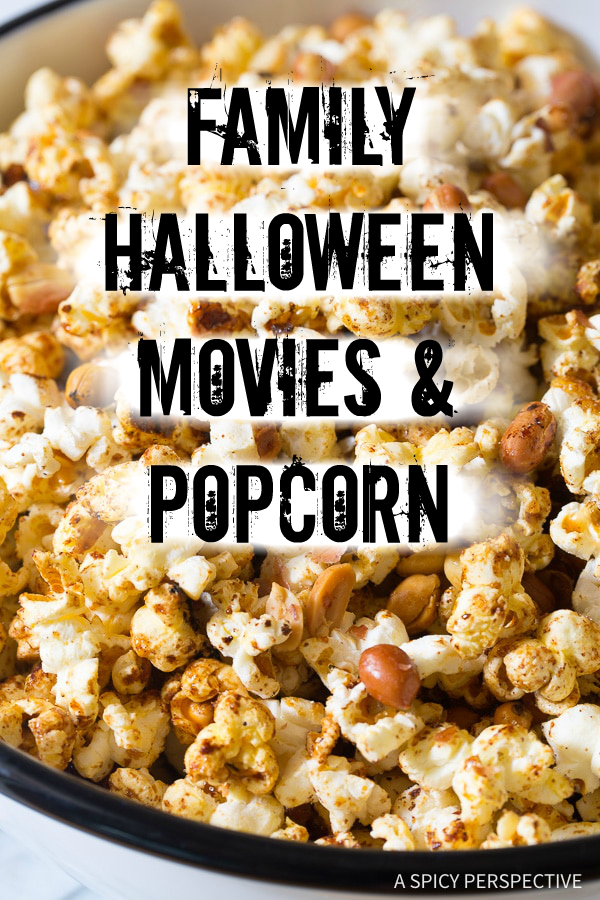 Family Friendly Halloween Movies and Popcorn