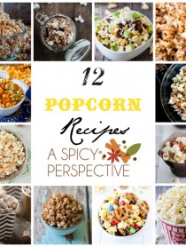 12 Popcorn Recipes for Halloween and Fall Parties! #halloween #fall #parties