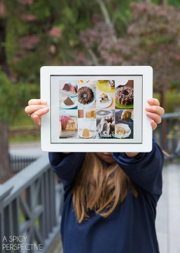 Get Brilliant Bundt Cake eCookbook on your Tablet!