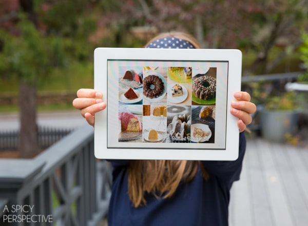 Brilliant Bundt Cakes eBook on your Tablet! #ebook #bundtcake
