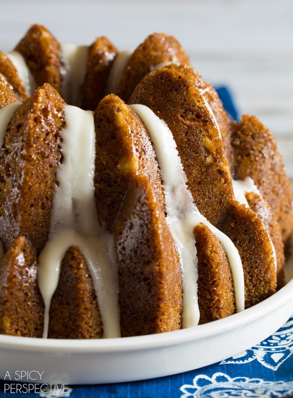 Tender Carrot Bundt Cake - Lemon Meringue Bundt Cake - S'mores Bundt Cake - Buttermilk Cherry Bundt Cake - Brilliant Bundt Cakes Ebook Release Party! #bundtcake #ebook