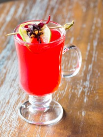 Hibiscus Hot Toddy