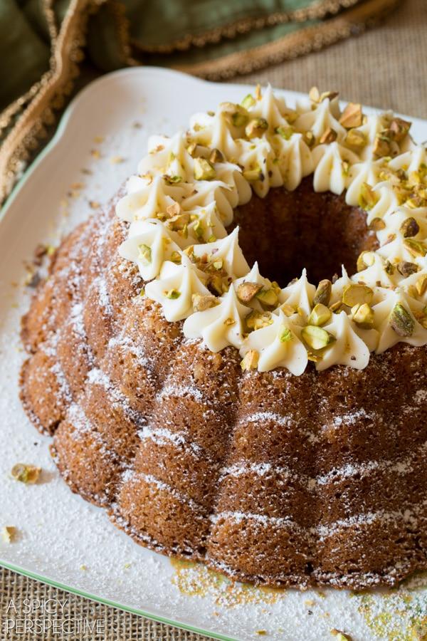 Italian Cream Bundt Cake - Tender Carrot Bundt Cake - Lemon Meringue Bundt Cake - S'mores Bundt Cake - Buttermilk Cherry Bundt Cake - Brilliant Bundt Cakes Ebook Release Party! #bundtcake #ebook