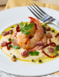 Italian Shrimp and Grits #comfortfood