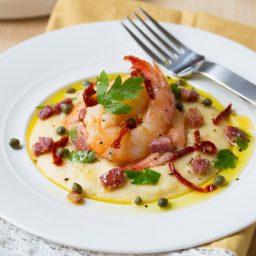 Italian Shrimp and Grits #comfortfood