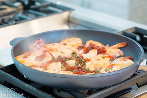 How To - Italian Shrimp and Grits #comfortfood