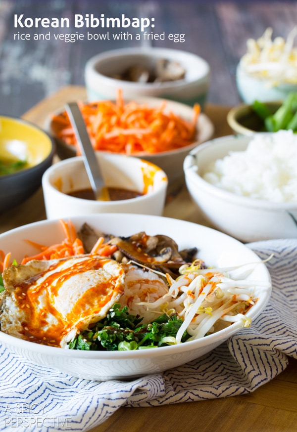Korean Bibimbab {A Spicy Perspective}