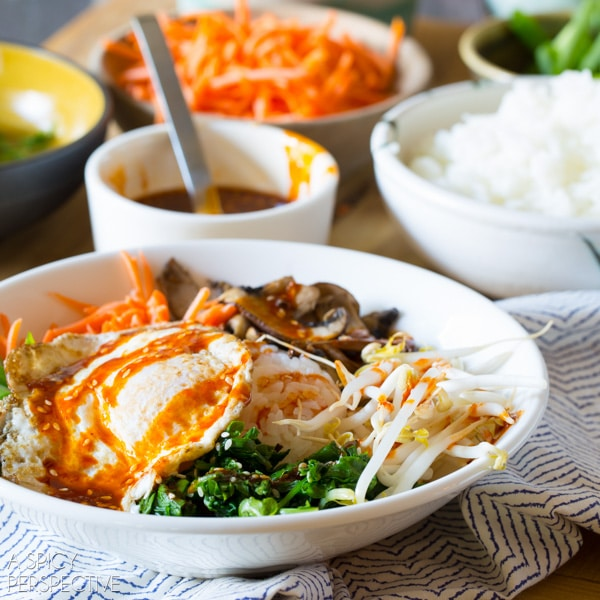 Easy Korean Bibimbap Recipe A Spicy Perspective
