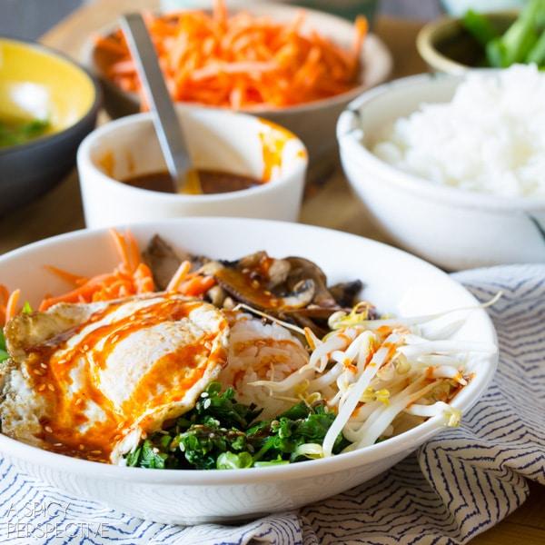 Easy Korean Bibimbap Recipe A Spicy Perspective