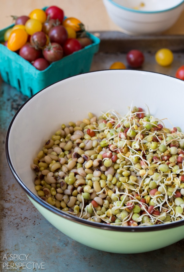 Amazing Market Bean Salad #healthy #salad #vegan #glutenfree