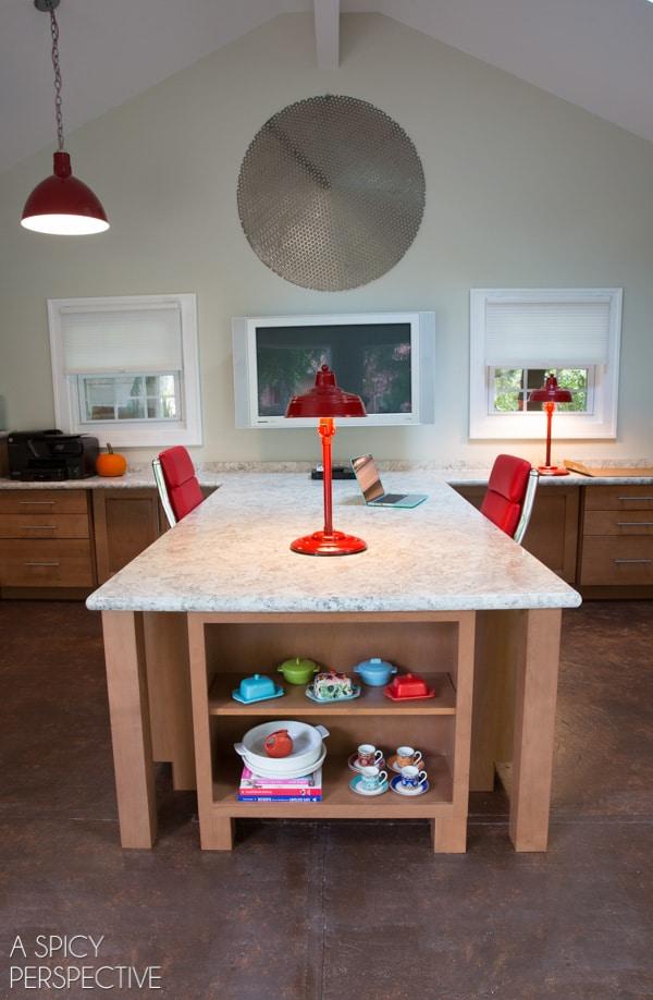 Office Remodel Reveal! #DIY #homeimprovement