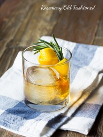 Rosemary Old Fashioned #cocktails