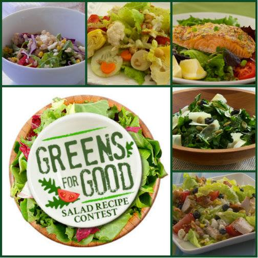 Newman's Own Greens For Good Salad Contest
