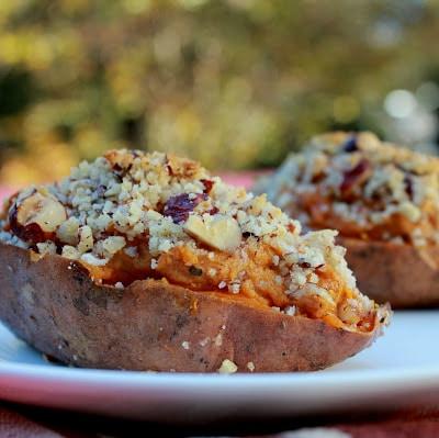 Twice Baked Sweet Potatoes