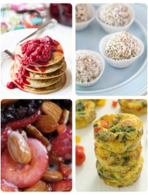 Paleo Breakfast Round Up #paleo #breakfast