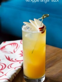 "The ""Apple Ginger Buck"" #Cocktail #fall"