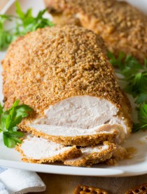 Baked Turkey Breast #thanksgiving #healthy #turkey #friedturkey
