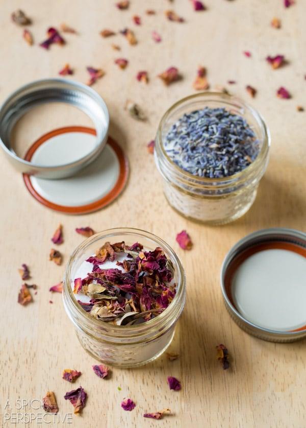 Easy Flavored Sugar Recipes #ediblegifts #homemadegifts
