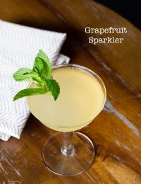 Grapefruit Sparkler #Cocktail #holidays