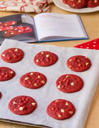 Red Velvet Cookies #redvelvet #cookieexchange