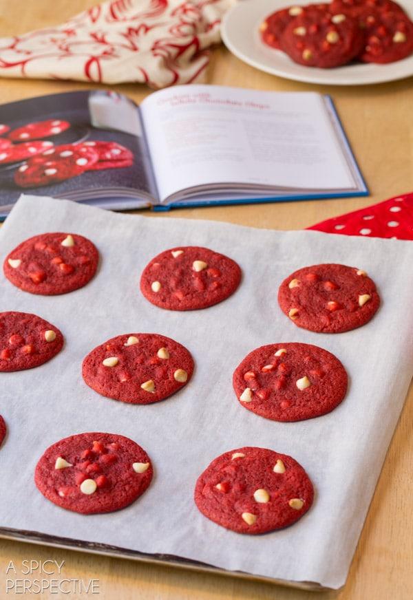 Red Velvet Cookies #redvelvet #cookieexchange