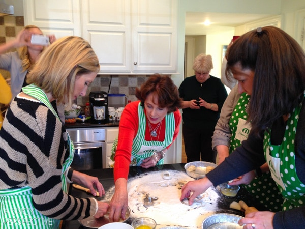 Baking with Sister Schubert #holidays