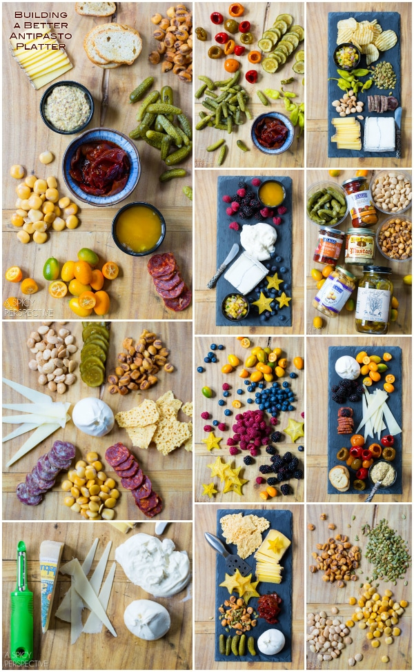 Snack Tray 101: Building a Better Antipasto Platter #holidays #party