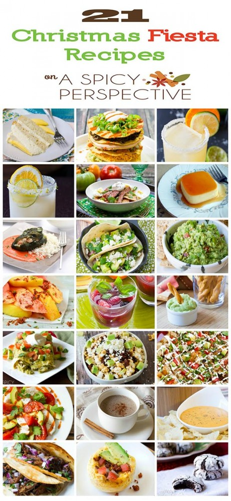 21 Christmas Fiesta Recipes - Mexican Food Recipes #mexican
