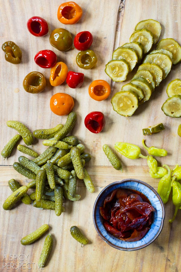 Pickle - Building a Better Antipasto Platter #holidays #party