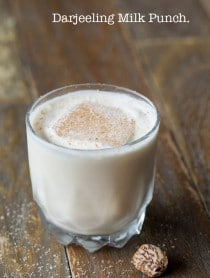 Darjeeling Milk Punch #cocktails #party