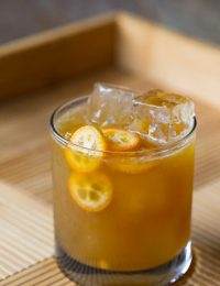 Kumquat Molasses Smash #Cocktail