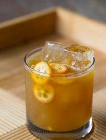 Kumquat Molasses Smash #Cocktail