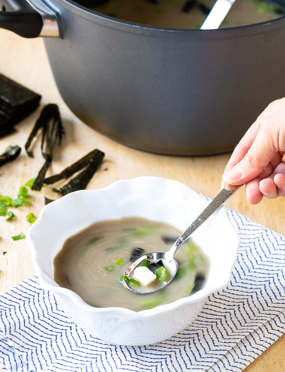 How To Make Miso Soup Recipe in 5 Minutes! #ASpicyPerspective #healthy #vegan #vegetarian #miso #soup