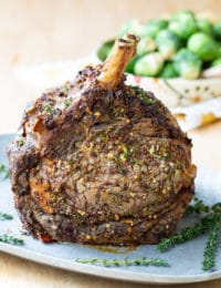 Best Standing Rib Roast Recipe #holiday #roast #beef #christmas #dinnerparty