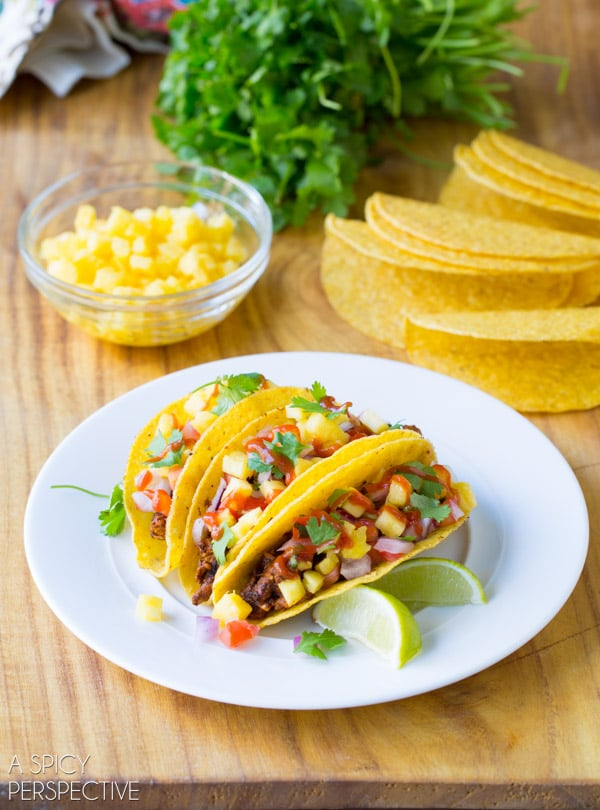 Tacos al Pastor Recipe #tacos #mexican