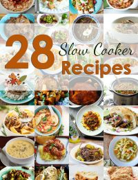 28 Slow Cooker Recipes #slowcooker #crockpot