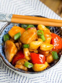 Paleo Cashew Chicken Recipe